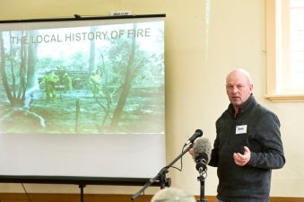 'Talking Fire' A Community Conversation: Understanding fire in our landscape - at the Newstead Community Centre